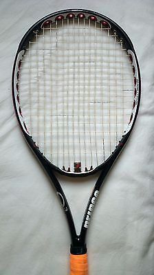 Raquette PRINCE O3 RED + Grip 3 (US 4 3/8) Racket STRUNG