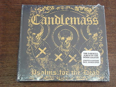 CANDLEMASS Psalms for the dead DIGIPACK CD + DVD NEUF