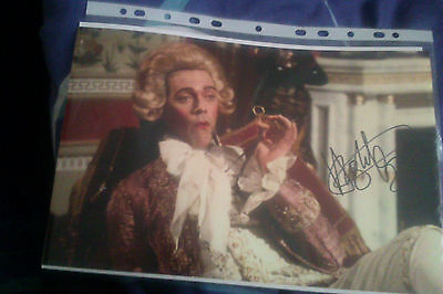 12 x 8 autograhed picture of Hugh Laurie with (COA)