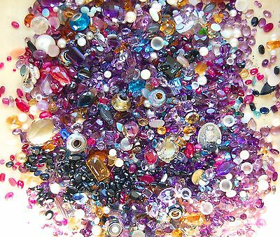 Huge Lot Of Breakout Gemstones Loose Stones From Scrap Gold 2170 Carats Sapphire
