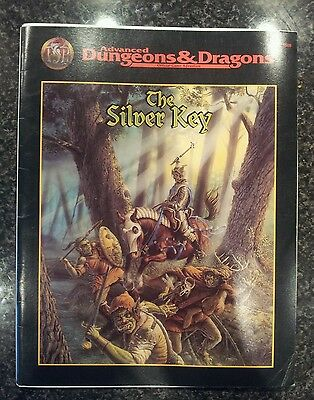 Advanced Dungeons & Dragons 2nd Edition The Silver Key adventure