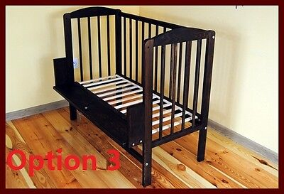 Baby Co Sleeper /Cot Bed Side /Next to me With FREE Mattress & fitted sheet