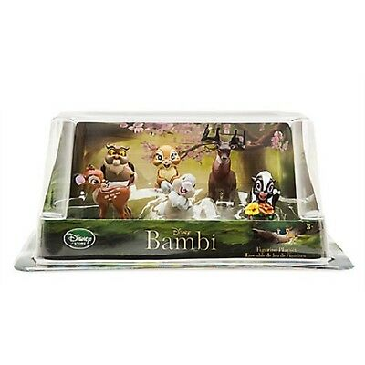 DISNEY : BAMBI - FIGURE PLAY SET (6 figurines)   - New in box