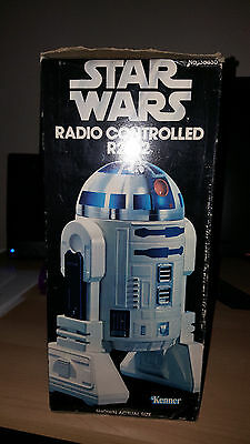 Star Wars Radio-Controlled R2D2 (working,original) + Extra R2D2 for spare parts