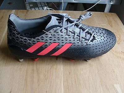 adidas Crazyquick Malice SG Rugby Boots UK size 9.5