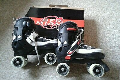 Boys Adjustable Roller Skates Size 3 to 6