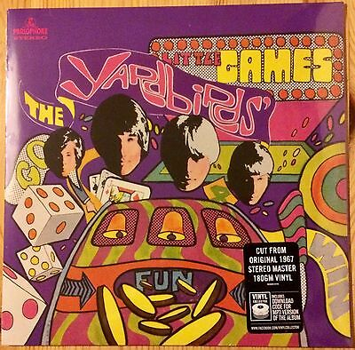 The Yardbirds - Little Games - Vinyl Lp - New And Sealed