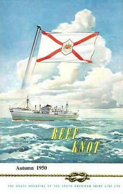 South American Saint Line - Reef Knot - Company Magazine Autumn 1950