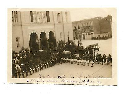 Greek Royal Family Athens Cathedral Funeral Of King Alexander Of Greece Photo