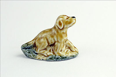 Wade Whimsies Labrador Retriever Setter Dog Puppy Porcelain Animal  Collectable