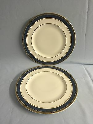 "Royal Doulton Stanwyck 10"" Luncheon/Dinner Plates X 2"