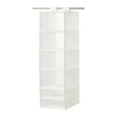 Ikea Skubb Organiser Clothes Storage Solution Fabric White x2 Items