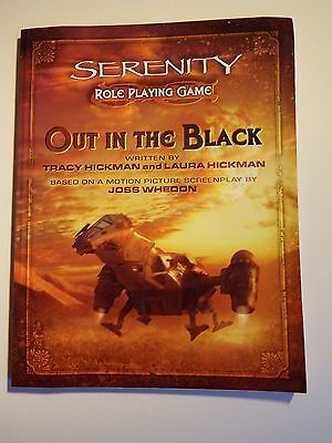 Serenity Role Playing Game: 'Out in the Black'
