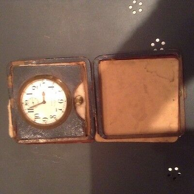 Vintage Mappin and Webb 8 day travel clock