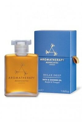 Aromatherapy Associates LIGHT RELAX Bath & Shower Oil 55ml RRP £45 New Boxed