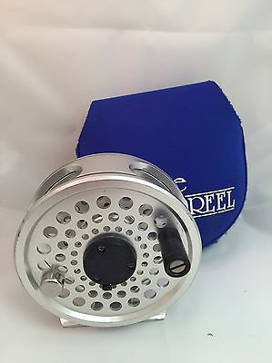 Ross Gunnison 3 Fly Reel Used Silver