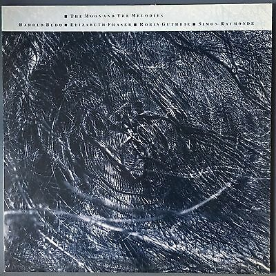 "Harold Budd, Cocteau Twins - The Moon & The Melodies - 12"" LP 1986 CAD611"