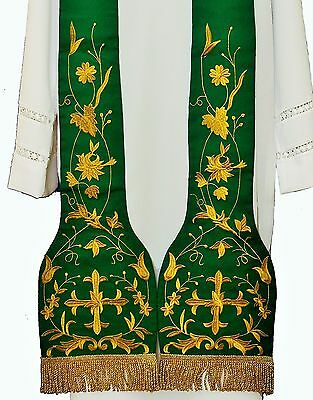 Stola  Kasel Priestergewand Messgewand Casula Chasuble Vestment SH-3Z
