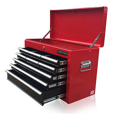 382 Us Pro Tools Red Black Affordable Tool Storage Chest Box Tool Box Cabinet