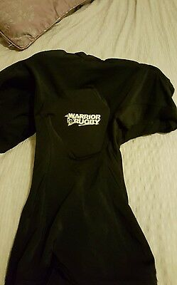 Warrior rugby protection top for contact sports / rugby medium Boys