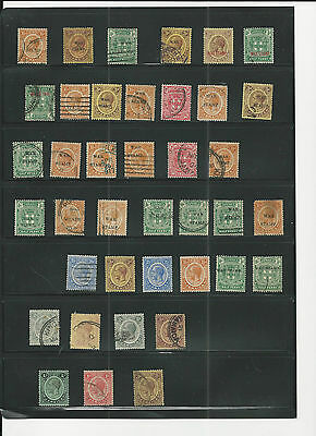 Trade Price Stamps Old Jamaica Mint And Used On 2 Stock Sheets Big Cat Value