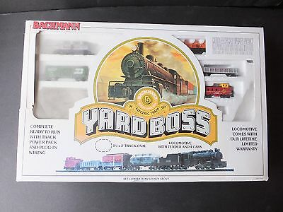 "Bachman ""The Yard Boss"" N-Scale Train Set  SPECIAL EDITION - with Box"