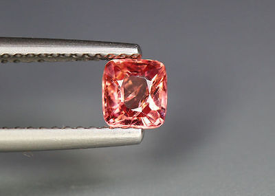 0.55 Cts_Glettering_Loose Gem_100 % Natural Unheated Burmesh Orange Pink Spinel