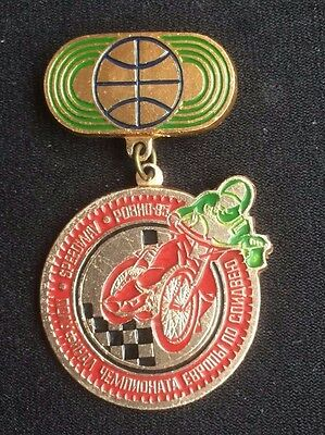 Speedway badge foreign medal