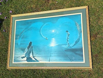 """Vintage Print Of """"The Wings of Love""""by Steven Pearson,"""