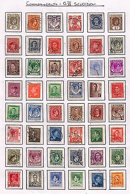 New Selection Of Gvi Commonwealth Fine Used Stamps.all Different.good Lot.