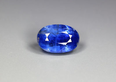 """3.92 Cts_Gem Miracle Collection_100 % Natural Royal Blue Kyanite""""un-Heated"""""""