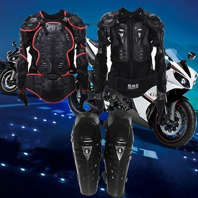 Motorbike Motorcycle Motocross Body/Knee  Armour Protection Spine Protector Guar