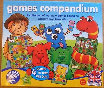 Orchard Toys Games Compedium 4 games in 1