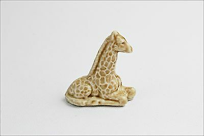 Vintage Wade Whimsies Giraffe - Porcelain Animal Figurine - Small Collectable