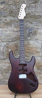 ST Body HSS  mahogany 2 piece + canadian maple neck + Hardware - special offer