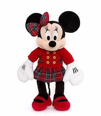 Official Disney Minnie Mouse Medium Festive Soft Toy