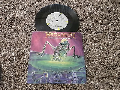 "Megadeath 7"" Single Record,- No More Mr Nice Guy, 1989."
