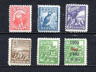Lundy very nice set mounted mint,as per scan(2221)