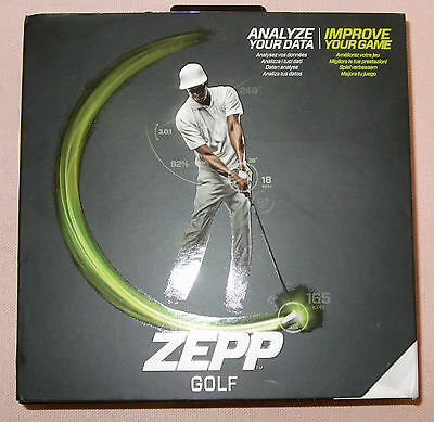 ZEPP GOLF SWING ANALYSER MADE FOR iPOD, iPHONE, iPAD; WORKS WITH ANDROID. NEW