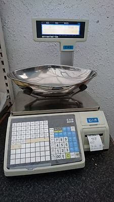 CAS5200 Digital Weigh Scales with label printing + labels