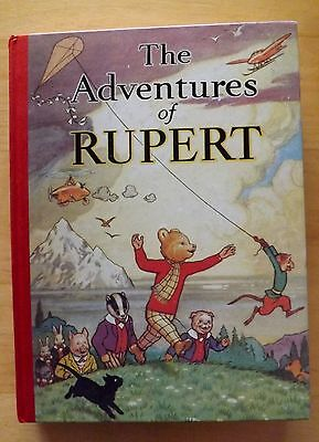 The Adventures of Rupert the Bear 1939  Annual Facsimile NEW