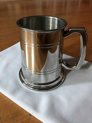 Wentworth Pewter Tankard 1/2 Pint Size