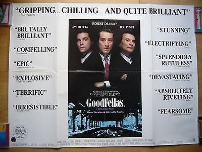 Goodfellas - Martin Scorsese - Original Quad Film Poster