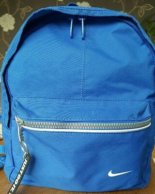Nike Blue Just Do It Ruck Sack