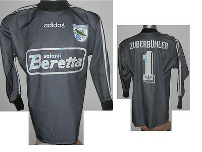 very rare 1994-98 FC Grasshoppers Zuberbühler #1 GK Football Shirt Signed - S