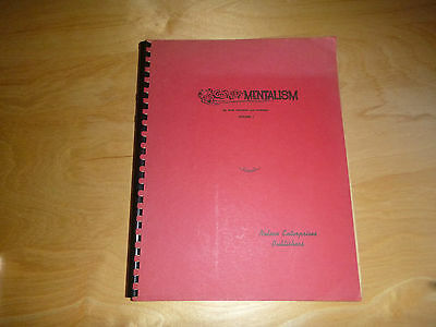 Comedy Mentalism by Bob Nelson and others Vol 1