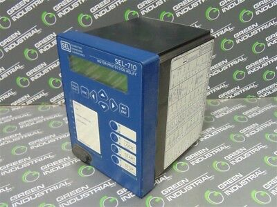 USED SEL 071001A0X0X0X860001 Motor Protection Relay SEL-710