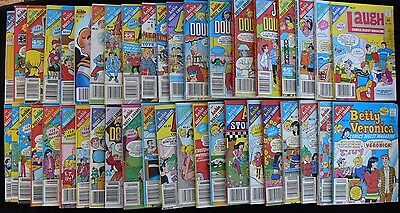 The Archie Digest Library Magazine Lot Of 42 Jughead, Betty and Veronica, Laugh