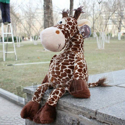 Giraffe Leopard Print Plush Toys Home Decor Decoration For Baby Family