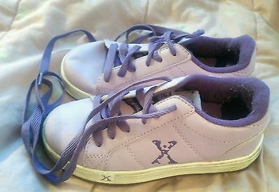 Girls roller shoes size ONE good condition